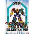 Fansproject Beastructor Saurus Ryu-Oh juego de 6