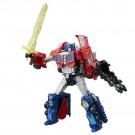 Retorno de Titanes Transformers Voyager Optimus Prime