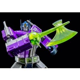 Obra maestra de transformadores Shattered Glass Optimus Prime