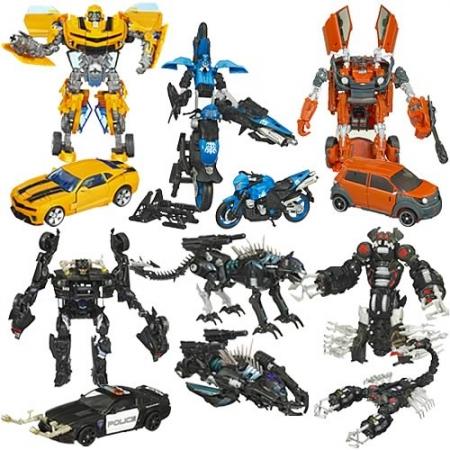 Transformers Movie Toys